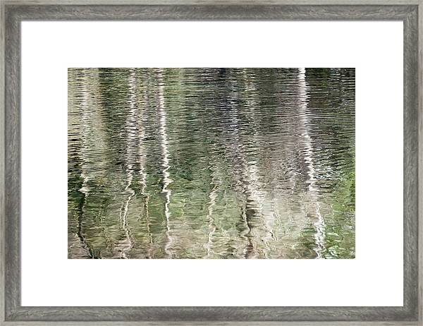 Water Reflection_727_18 Framed Print