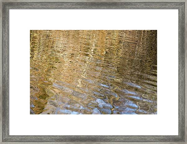 Water Reflection_751_18 Framed Print