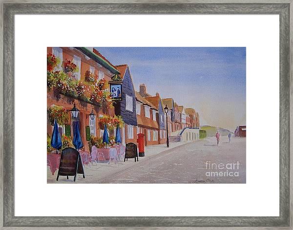 Watercolour Folkestone Harbour Framed Print