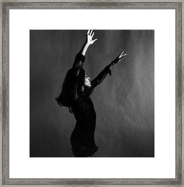 Wave Your Arms Framed Print