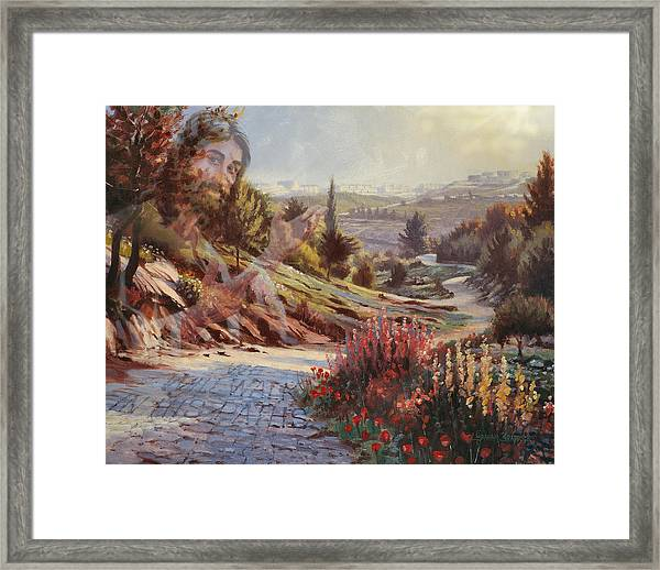 We Will Walk In His Paths 2 Framed Print
