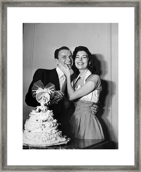Wedded Bliss Framed Print by Hulton Archive