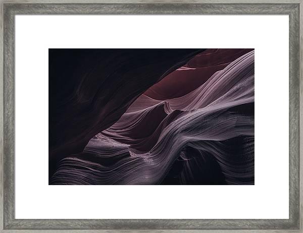 Well Hidden II, Lower Antelope Canyon, Az Framed Print