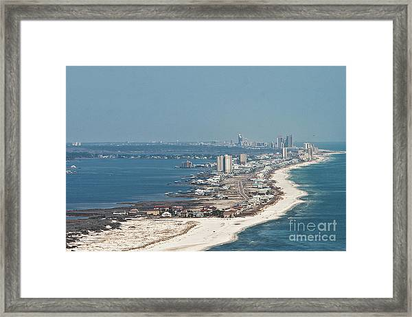 West Beach-1 Framed Print