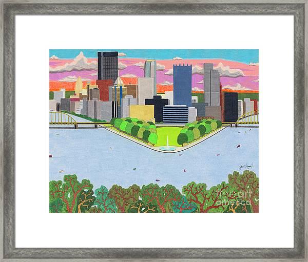West End Overlook Framed Print