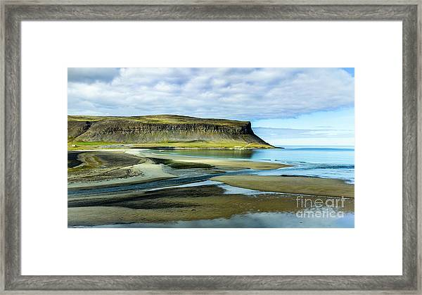 Westfjords, Iceland Framed Print