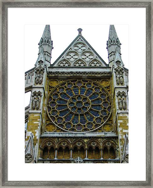 Westminster Abbey 2 Framed Print