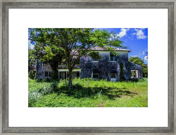 Westmoreland Plantation Framed Print