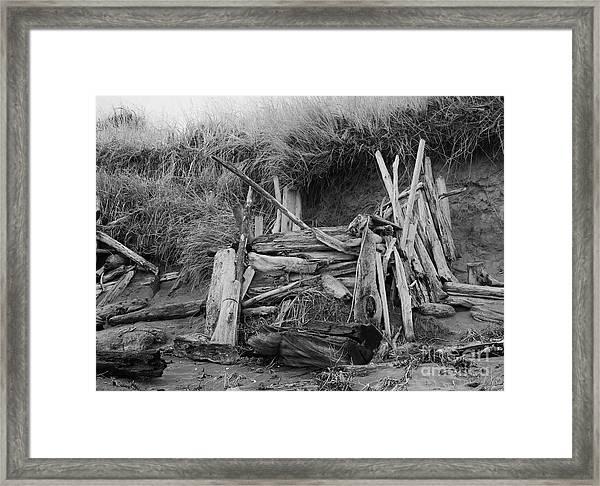 Westport Hut Framed Print