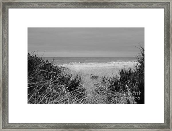 Framed Print featuring the photograph Westport Red Filter by Jeni Gray