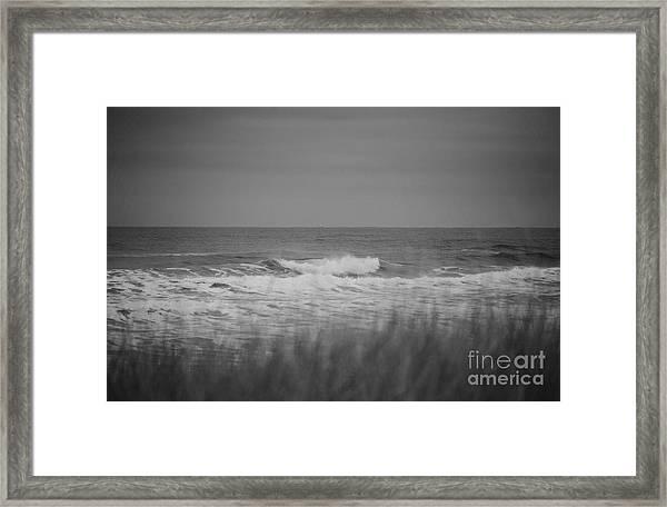 Westport Waves Framed Print