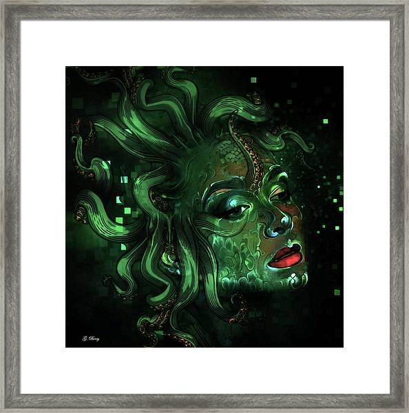 What Is Art Without Imagination Framed Print