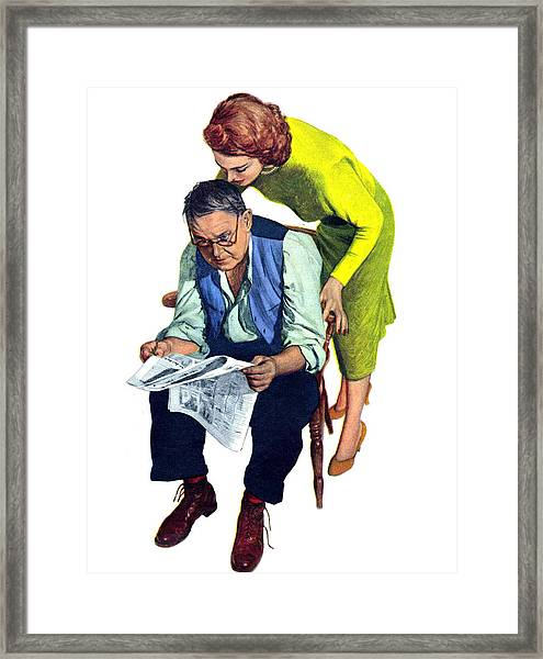 What Is New Framed Print