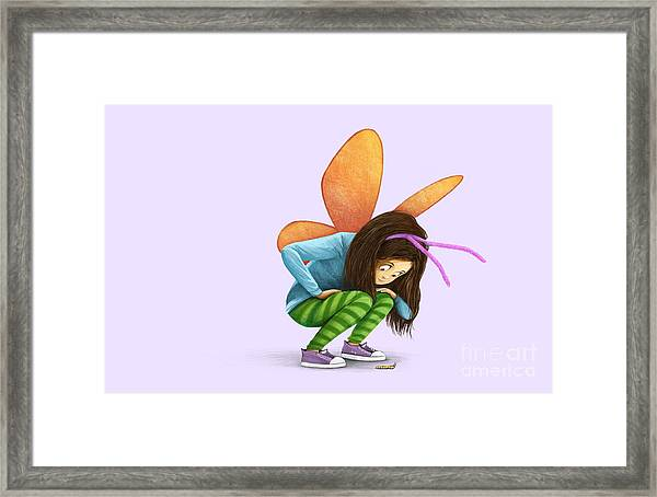 What Will You Be? Framed Print