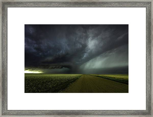When Cells Collide Framed Print
