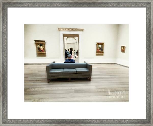 Art That Attracts  Framed Print by Steven Digman