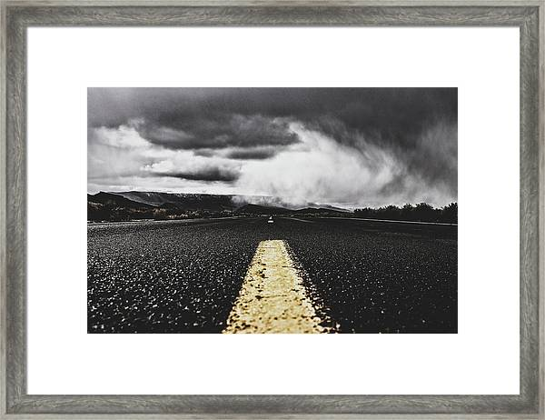 Where The Road Takes You Framed Print