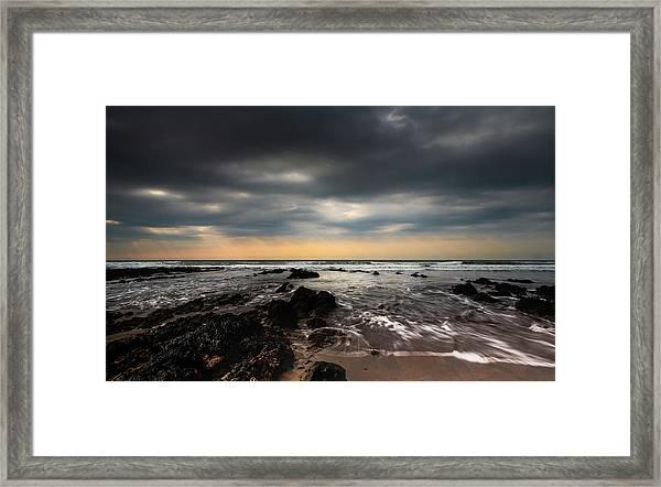 Widemouth Bay, Cornwall. Framed Print