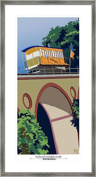 Wiesbaden Nerobergbahn Framed Print