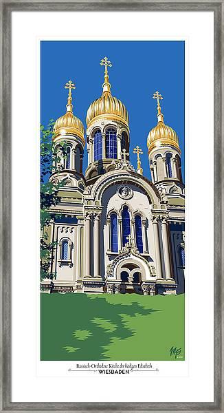 Wiesbaden Russian Orthodox Church Framed Print