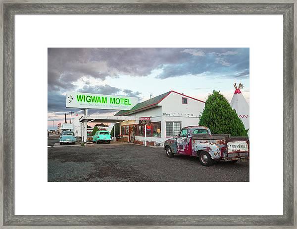 Wigwam Motel, Route 66, Holbrook Framed Print