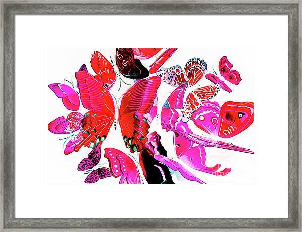 Wild Vibrancy Framed Print