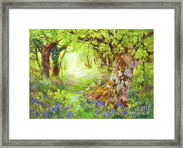 Wildflower Delight Framed Print