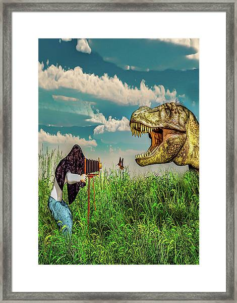 Wildlife Photographer  Framed Print