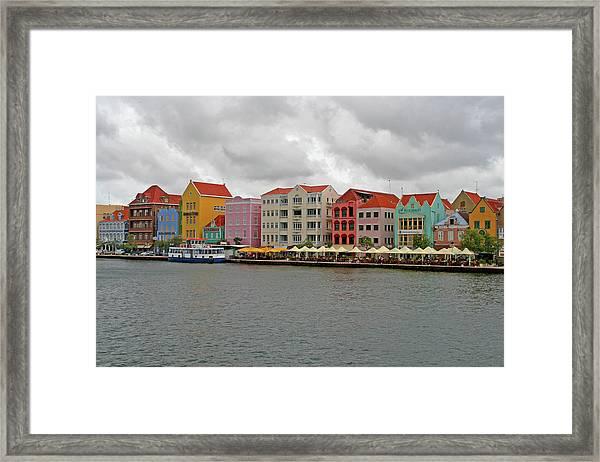 Willemstad, Curacao Framed Print