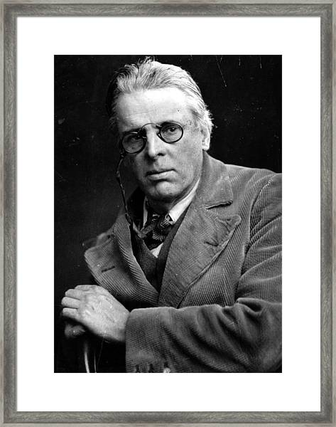 William Yeats Framed Print by Hulton Archive