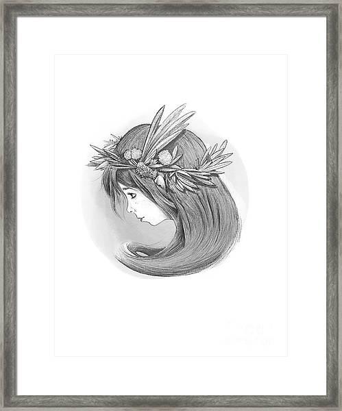 Willow's Whispers Framed Print