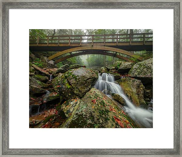 Wilson Creek Bridge Framed Print