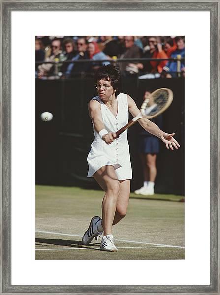 Wimbledon Lawn Tennis Championship Framed Print