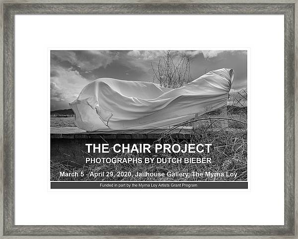 Wind / The Chair Project Framed Print