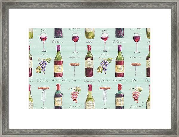 Wine Country Step 01b Framed Print