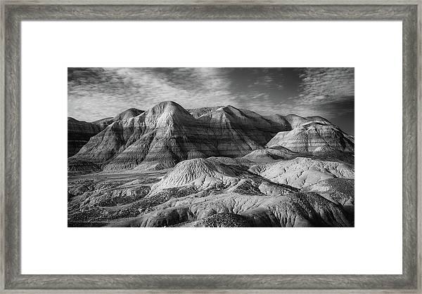 Winter - Blue Mesa Framed Print by Joseph Smith