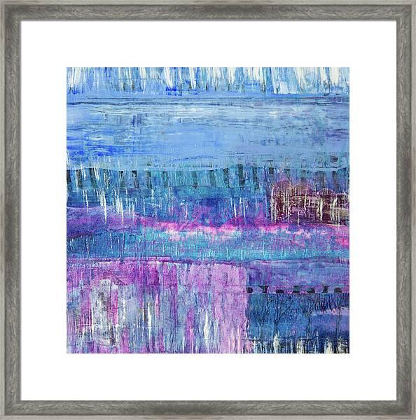 Winter Blues 3 Framed Print