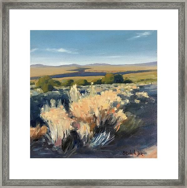 Winter Palette Framed Print