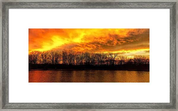 Winter Warmth Framed Print