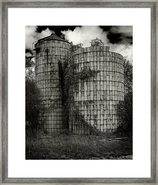 Wisconsin Silo Framed Print