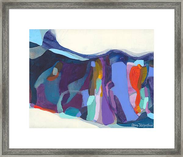 With Grace Framed Print