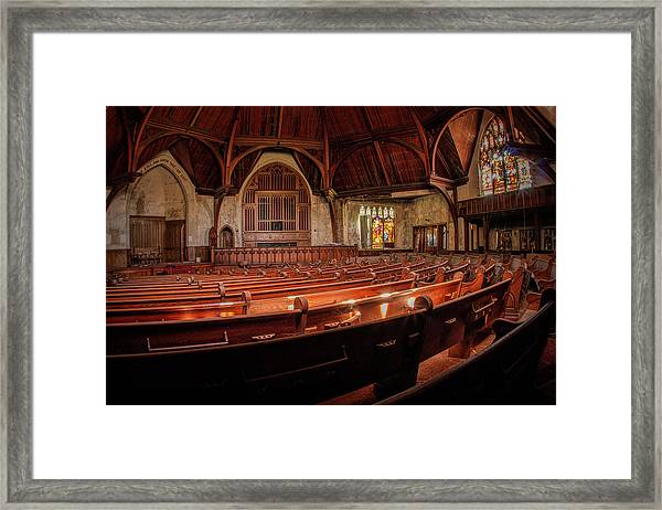 Within The Sanctuary Framed Print