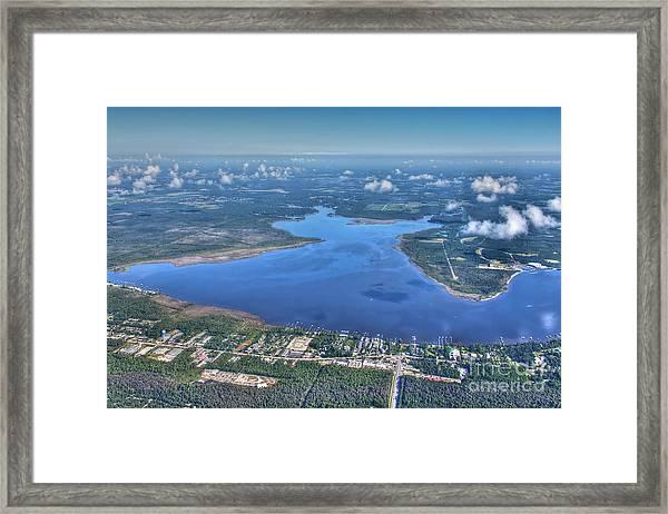 Wolf Bay Alabama Framed Print