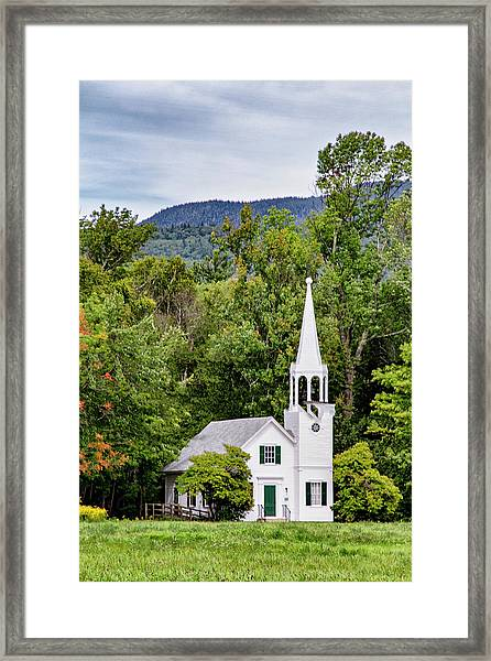 Wonalancet Union Chapel Framed Print