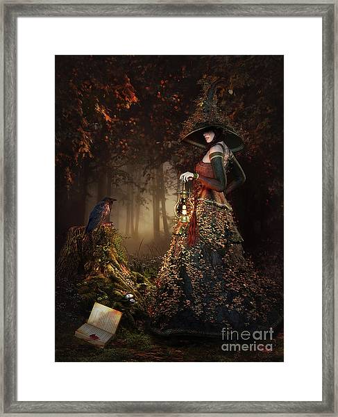Wood Witch Framed Print