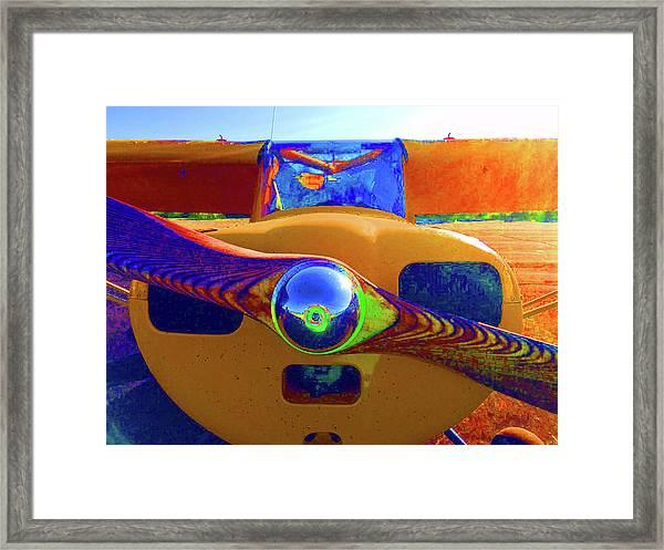 Wooden Prop Framed Print