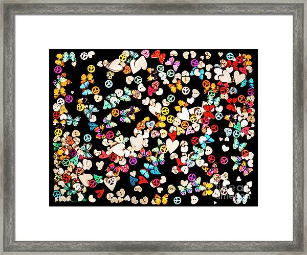 Woodstock Decorated Framed Print