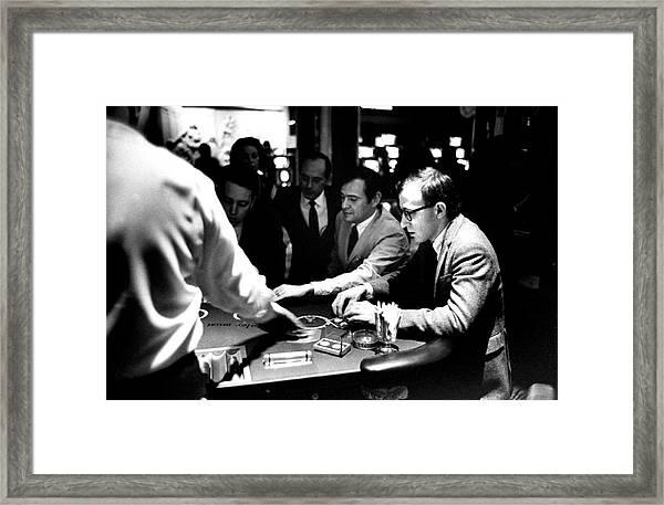 Woody Allen Framed Print by Bill Ray