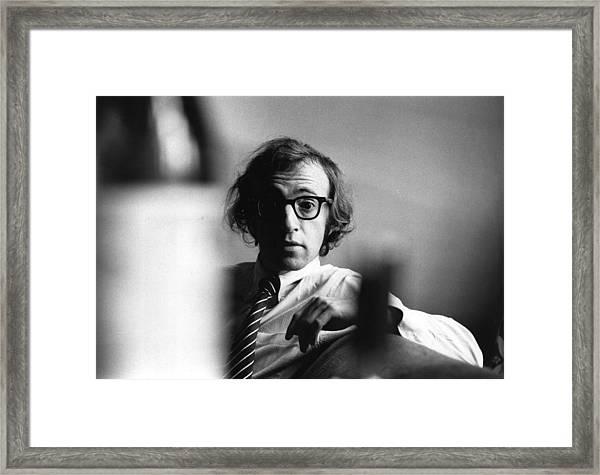 Woody Allen Framed Print by Evening Standard
