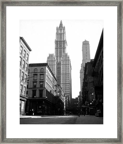Woolworth Building, New York City, New Framed Print by Jupiterimages